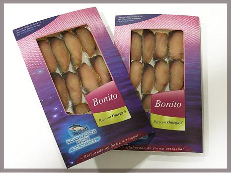 Diseño de packaging para R.F. Salazones